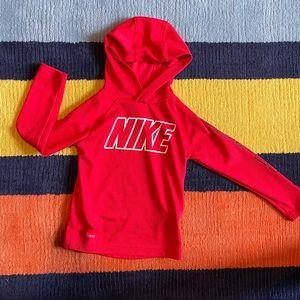 Nike training hoodie. Comfy Cute! Size 4-5 years.